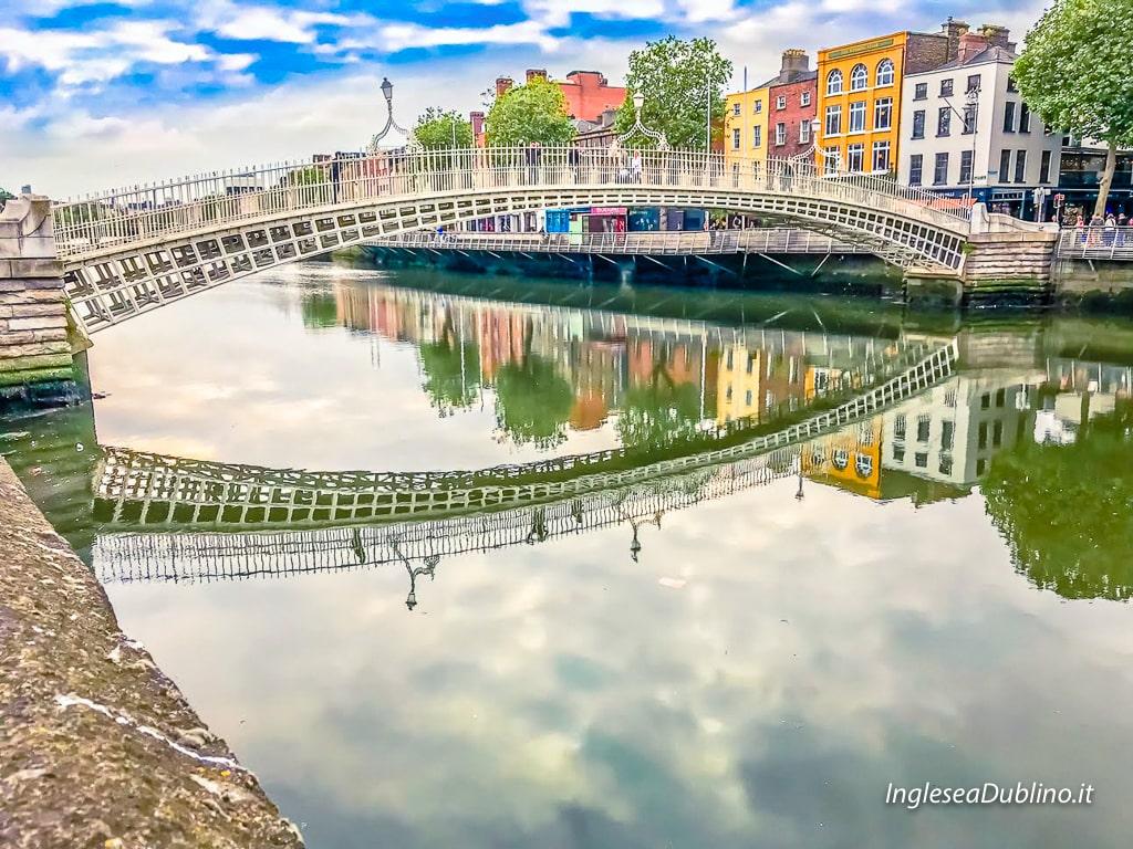 ponti centro di Dublino Irlanda